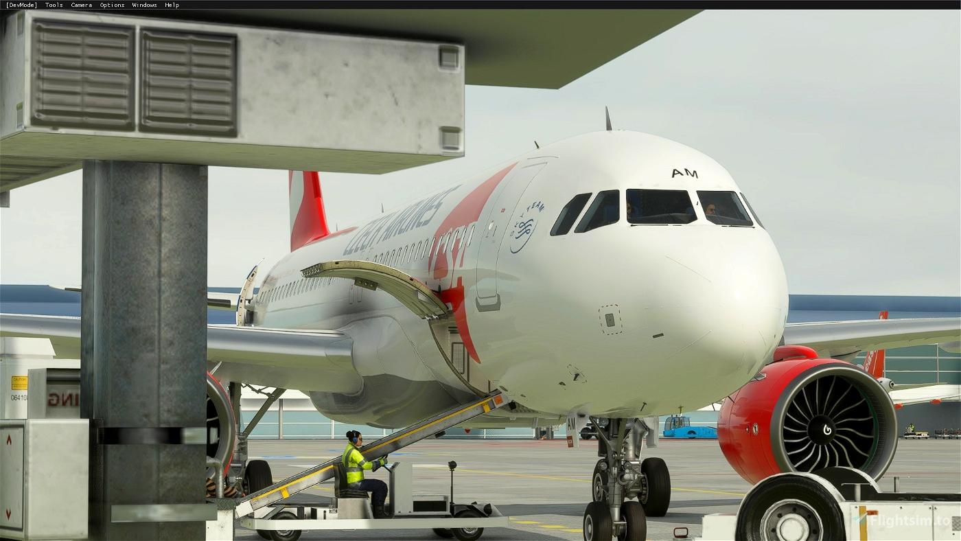 A320 NEO ČSA (Czech Airlines) Livery Flight Simulator 2020