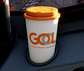 GOL Linhas Aéreas Inteligentes - Coffee Cup Collection Image Flight Simulator 2020