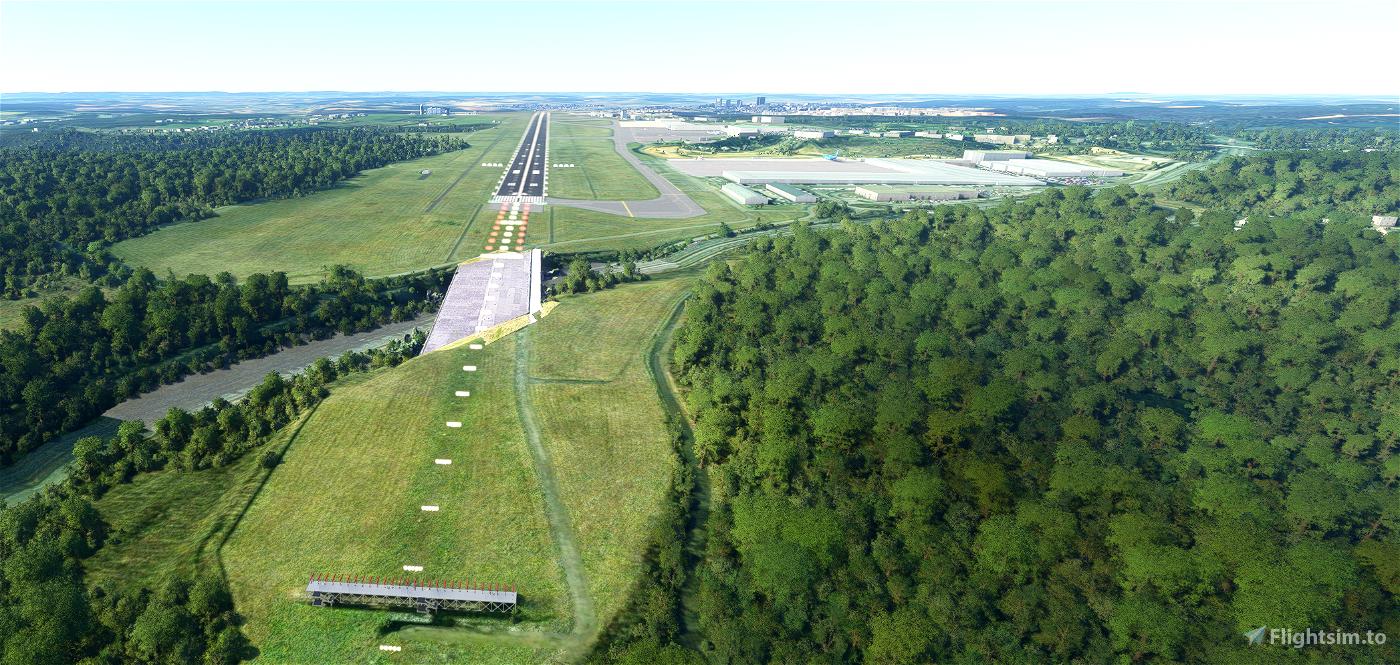 ELLX-Luxembourg Findel International Microsoft Flight Simulator
