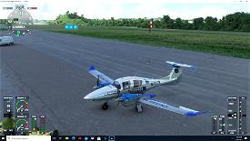 Diamond DA62 united airlines Microsoft Flight Simulator