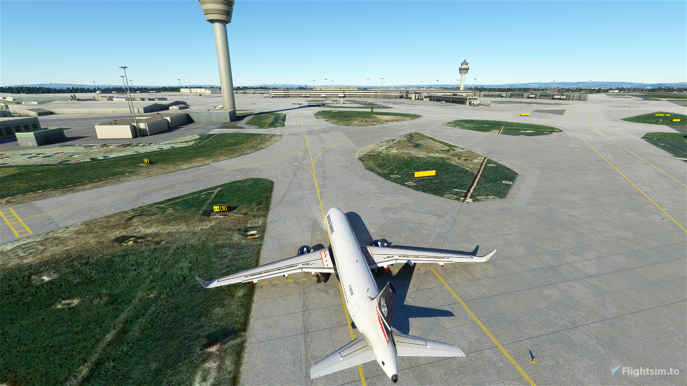 EGCC - Manchester Taxiway Building removal Microsoft Flight Simulator