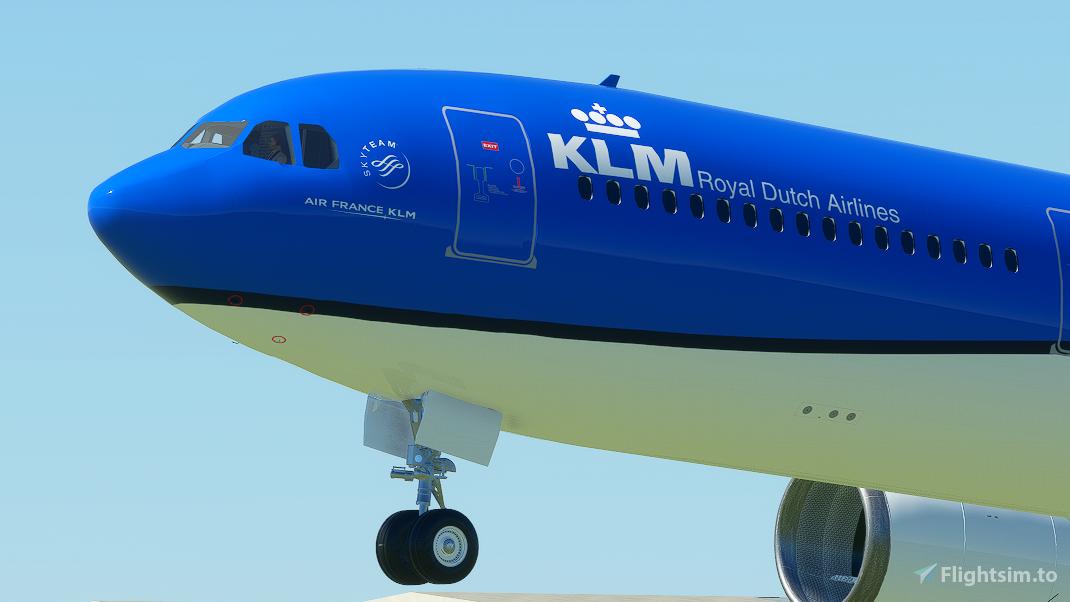 KLM  Livery | PMP a330-300 [8K] Flight Simulator 2020