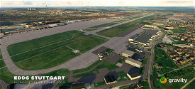 EDDS - Stuttgart Manfred Rommel Airport Microsoft Flight Simulator