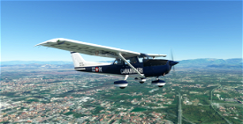 C172 G1000 - Carabinieri Image Flight Simulator 2020