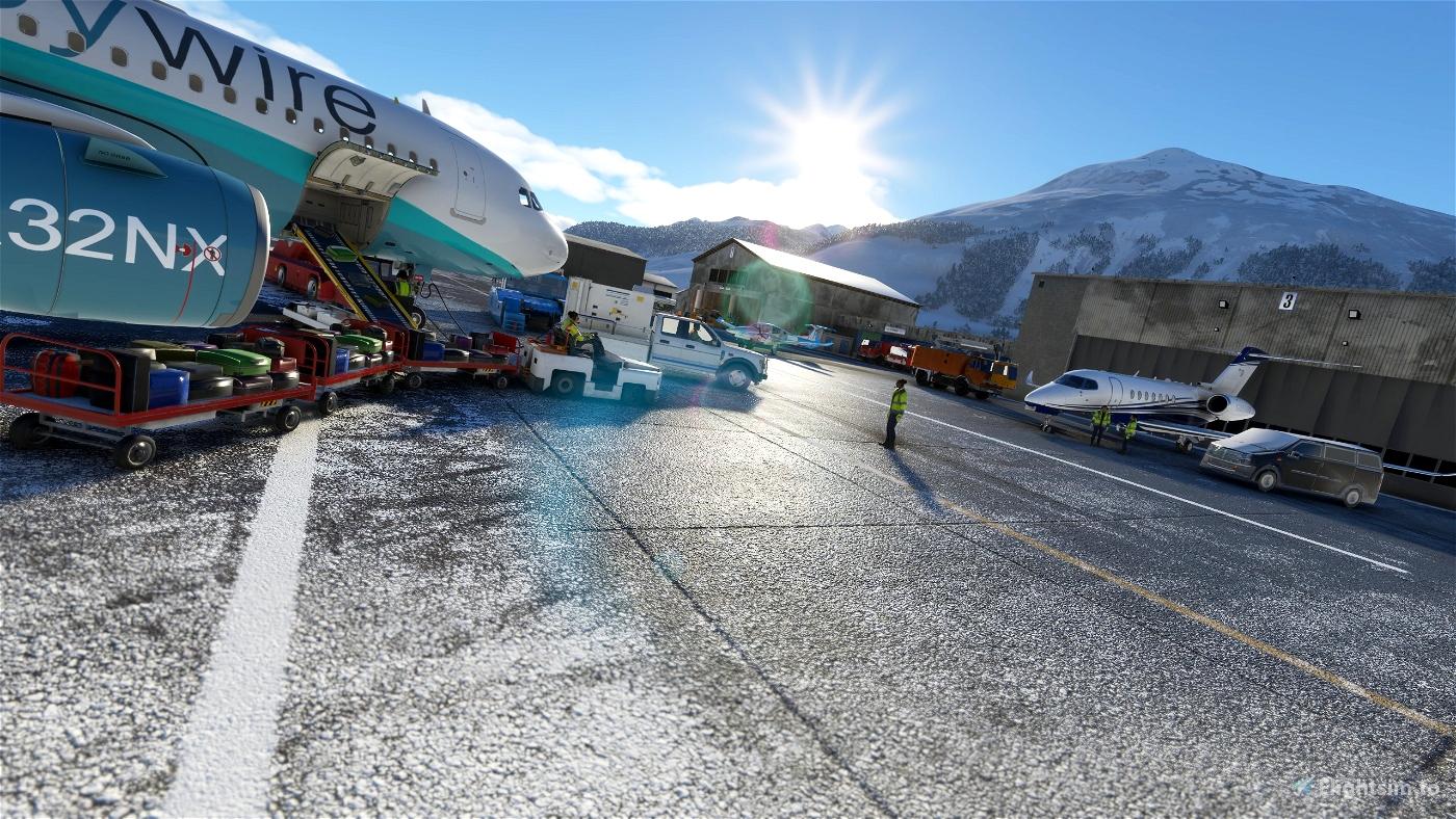 Saint Moritz - Samedan Airport LSZS   (Swiss) v2.4