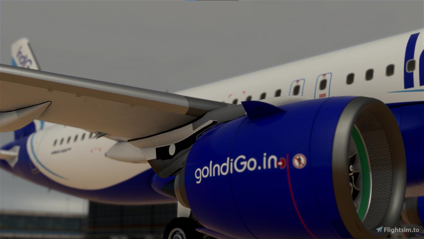IndiGo A320neo [8k Ultra]