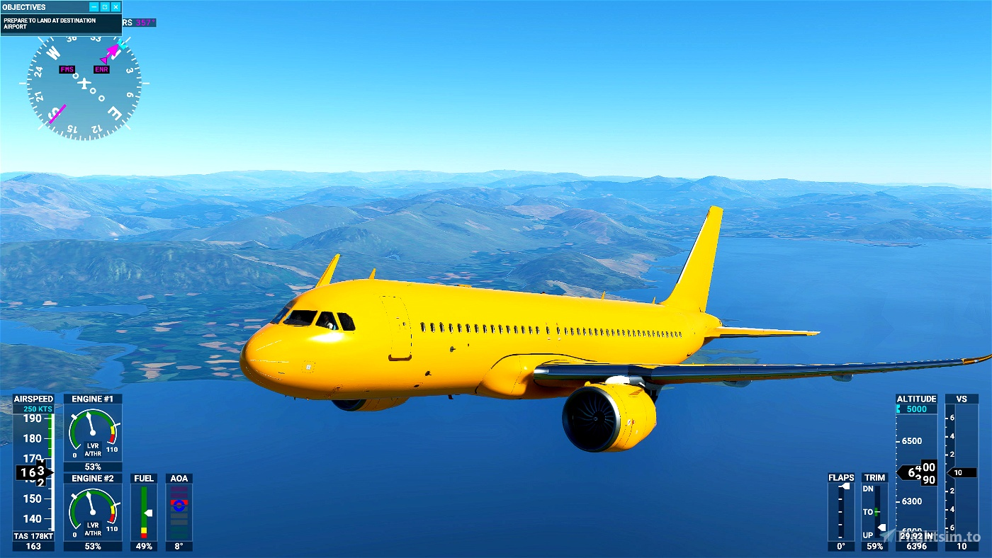 A320 NEO Complete 8K Paintkit for Blender and Photoshop