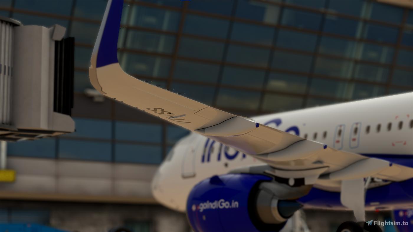 IndiGo A320neo [8k Ultra] Flight Simulator 2020