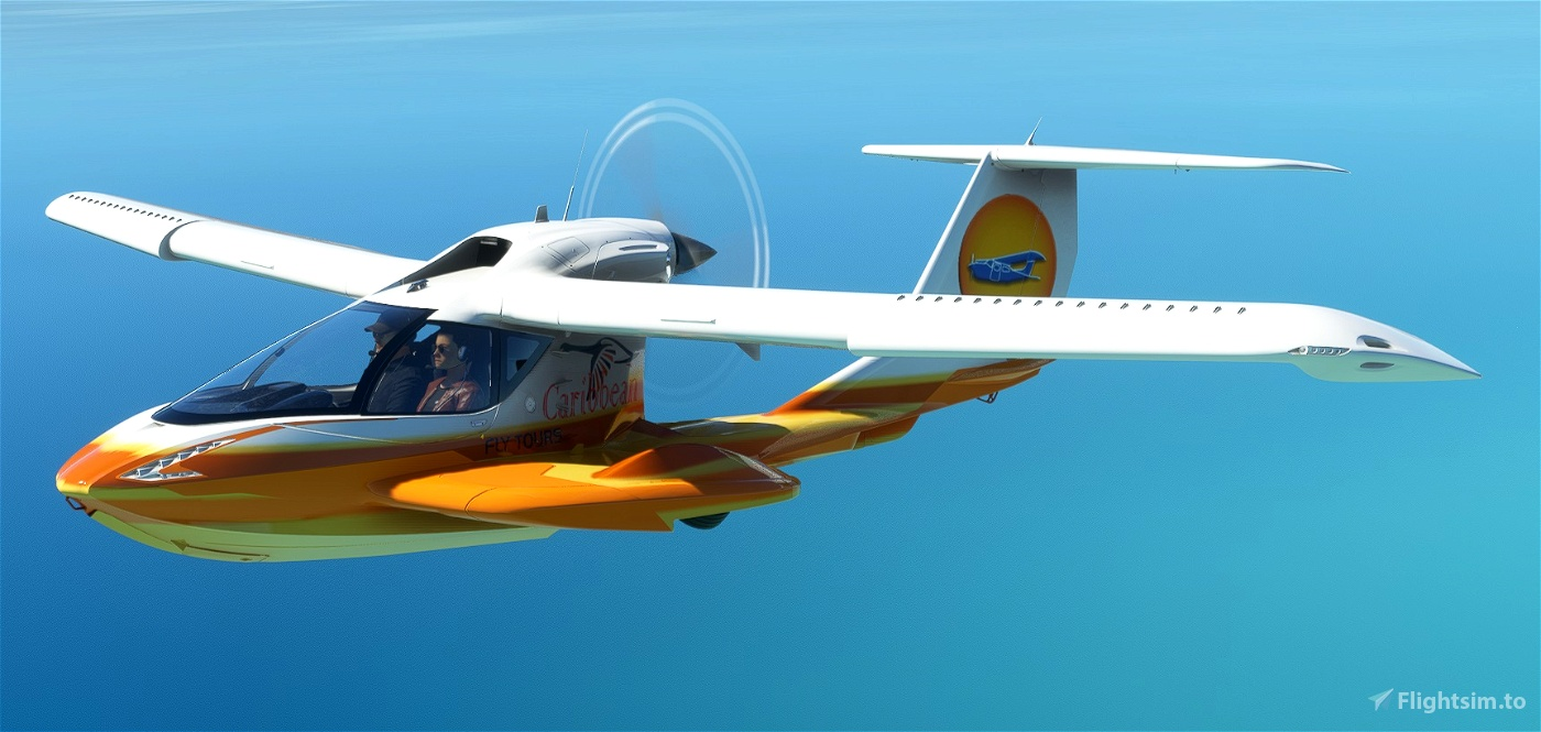 Asobo Icon A5 Caribbean Fly Tours