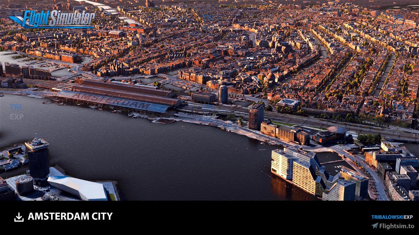 Amsterdam Flight Simulator 2020