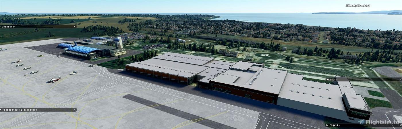 Burgas LBBG Microsoft Flight Simulator