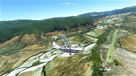 Boyds Hut Airstrip - Hawkes Bay, New Zealand Image Flight Simulator 2020