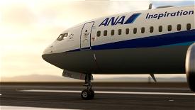 Bredok's 737 Max | All Nippon Airlines  Image Flight Simulator 2020