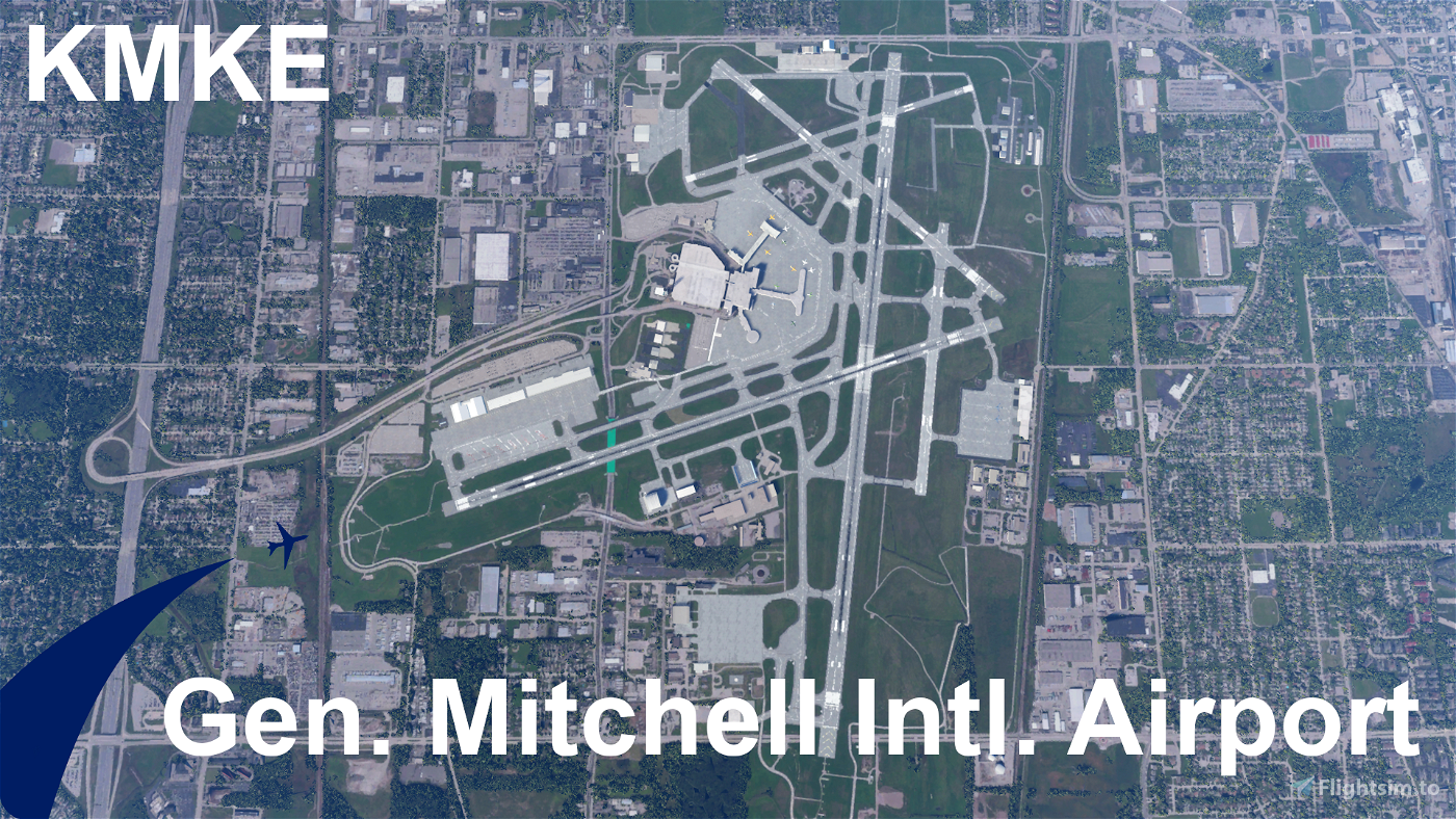 KMKE - Gen. Mitchell Intl. Airport (Milwaukee, Wisconsin) Flight Simulator 2020