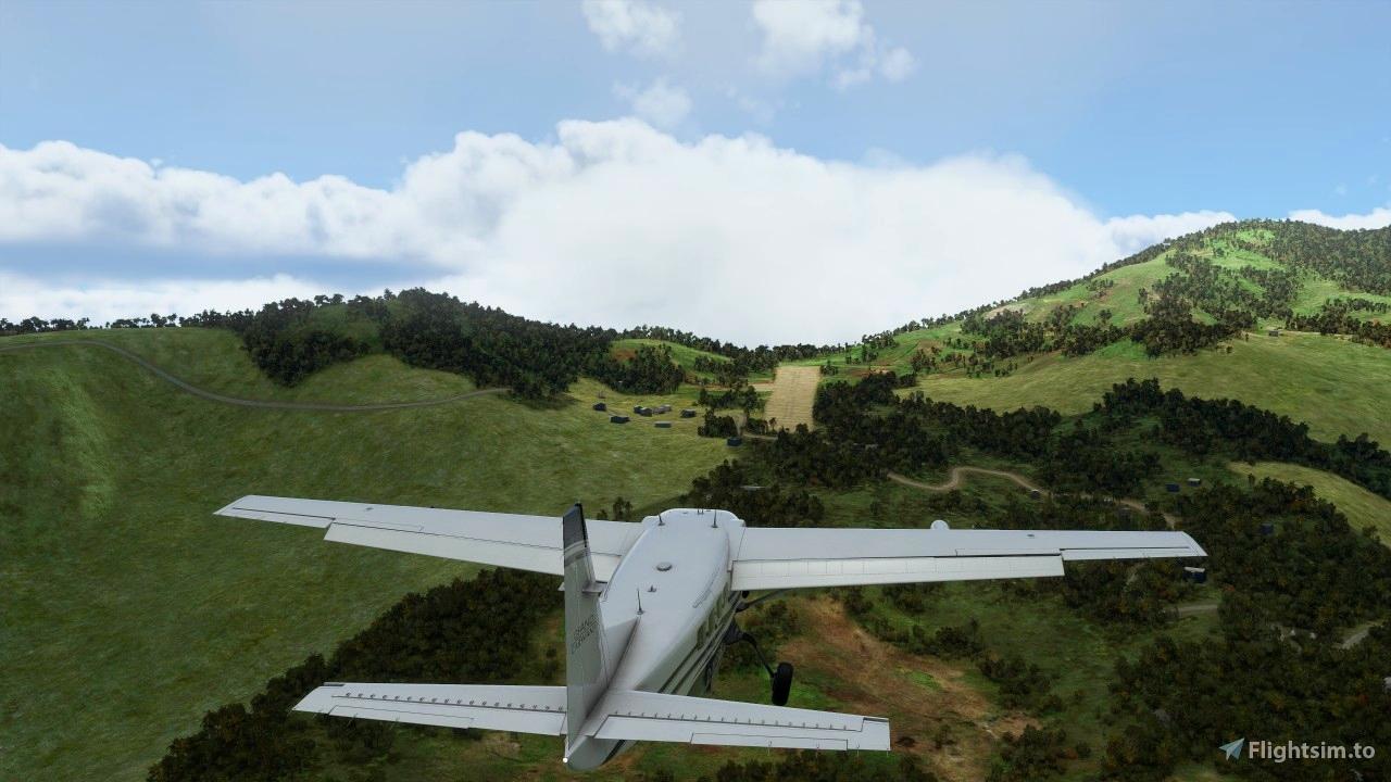bush airstrip AYBI Yobai
