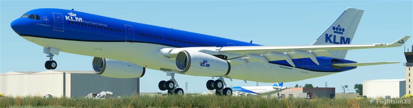 KLM  Livery | PMP a330-300 [8K]
