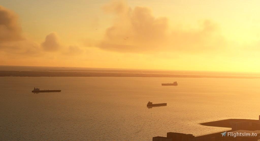 Global AI Ship Traffic MSFS V2
