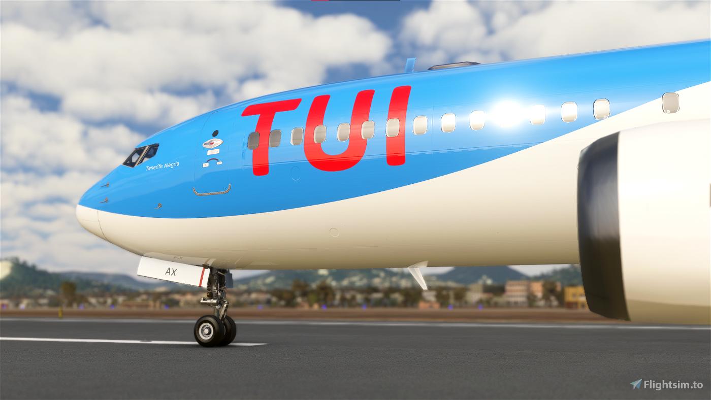 Bredok's 737 Max   TUI Airways Flight Simulator 2020