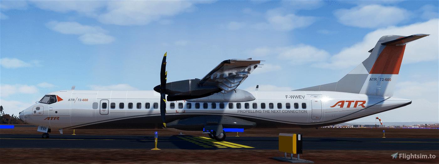 ATR-72-600 (Working Cockpit) Microsoft Flight Simulator