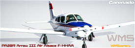 Carenado PA28R Arrow III Air Alsace F-HHAA Microsoft Flight Simulator