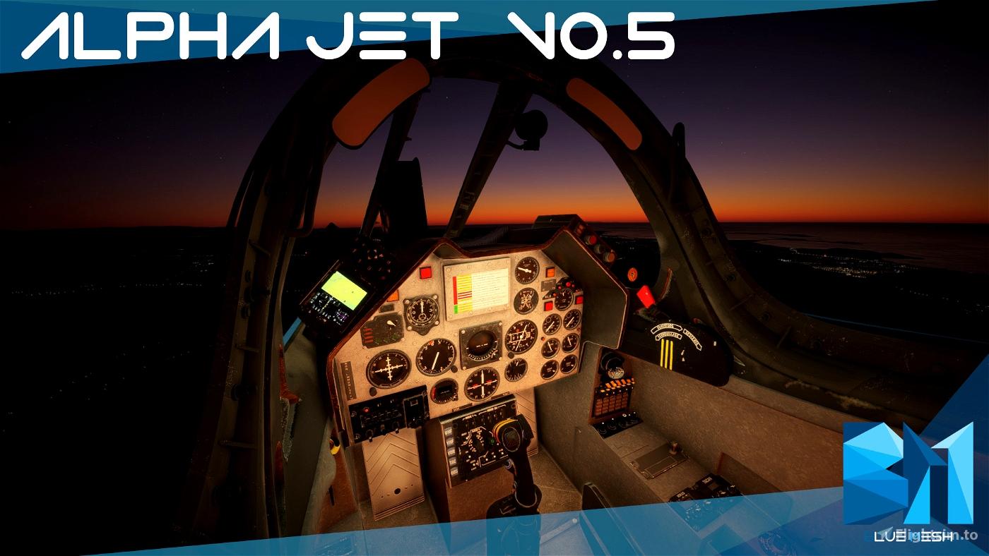 Dassault Dornier Alpha Jet [WIP VERSION 0.5.1 ]