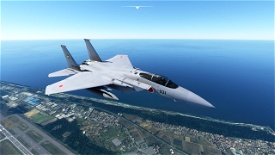 DC-Designs F-15C JASDF 306SQ Microsoft Flight Simulator