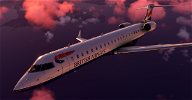 Aerosoft CRJ550 British Airways G-MRSK | 8K ULTRA Microsoft Flight Simulator