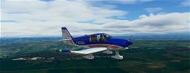 Robin DR400-140B Dauphin + Liveries Microsoft Flight Simulator