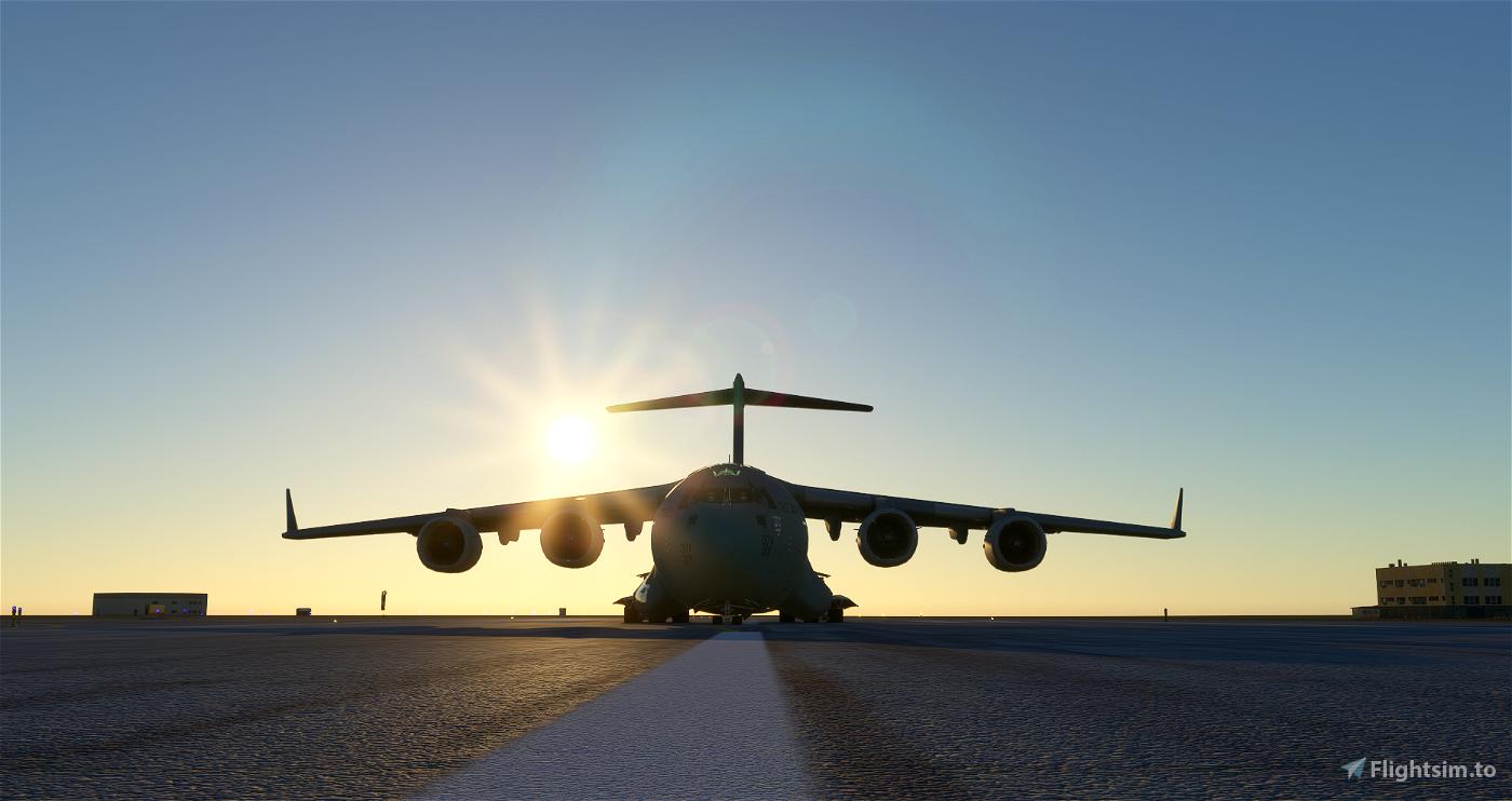 C-17 Globemaster (Working 747 cockpit) WIP