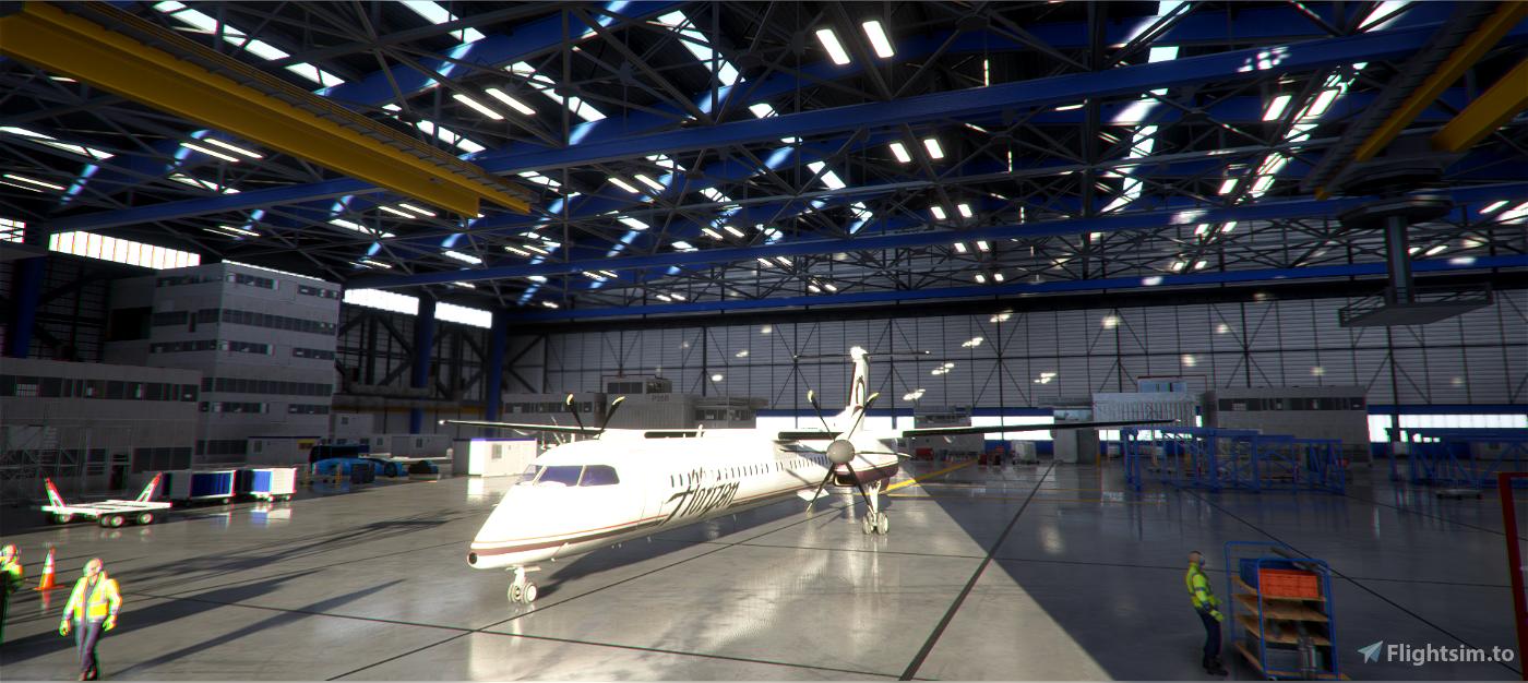 Bombardier Dash8 Q400(Working Cockpit)WIP