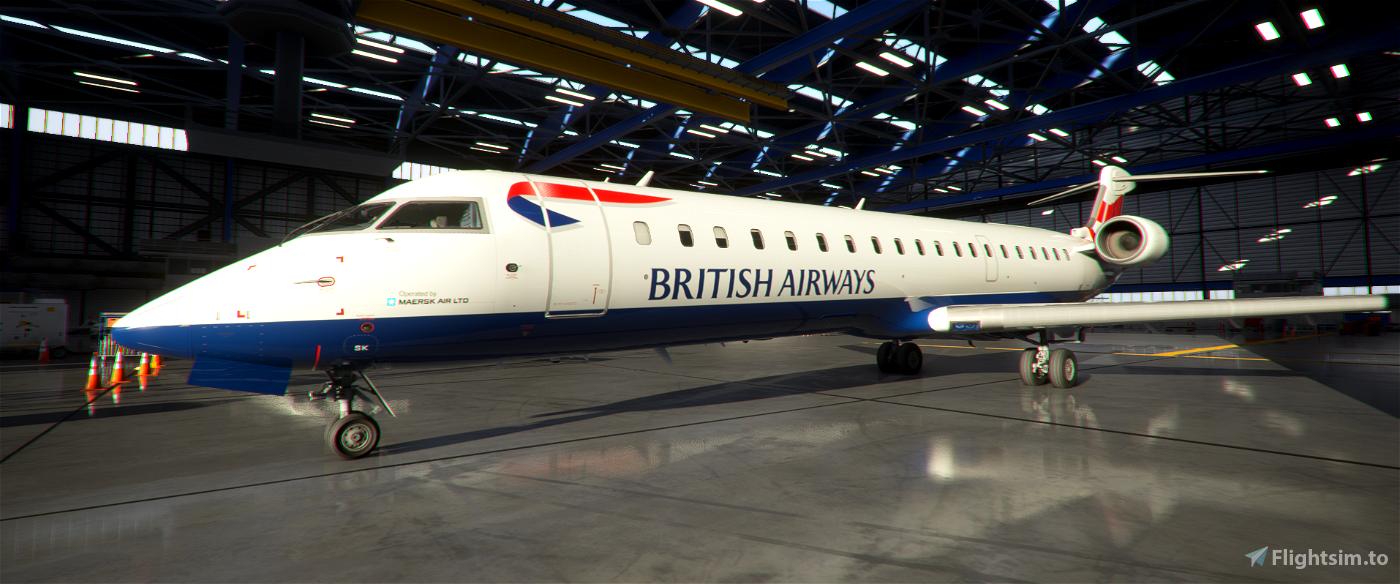 Aerosoft CRJ550 British Airways G-MRSK | 8K ULTRA