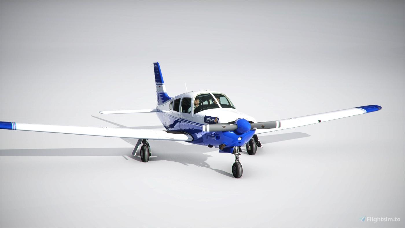 [Carenado] Piper PA28R - Trener Kft. Livery [4k] Microsoft Flight Simulator