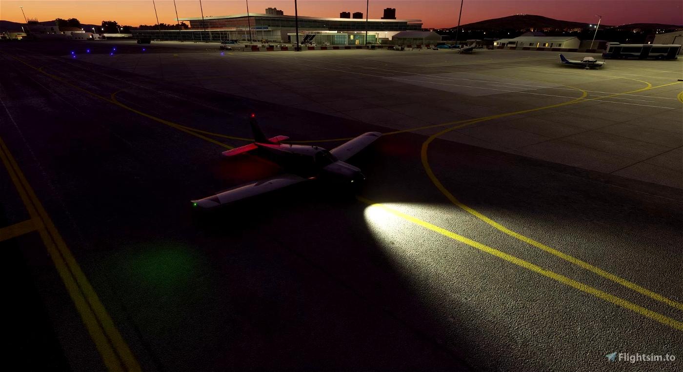 Piper PA28R Arrow III (JustFlight) - Lights mod Microsoft Flight Simulator