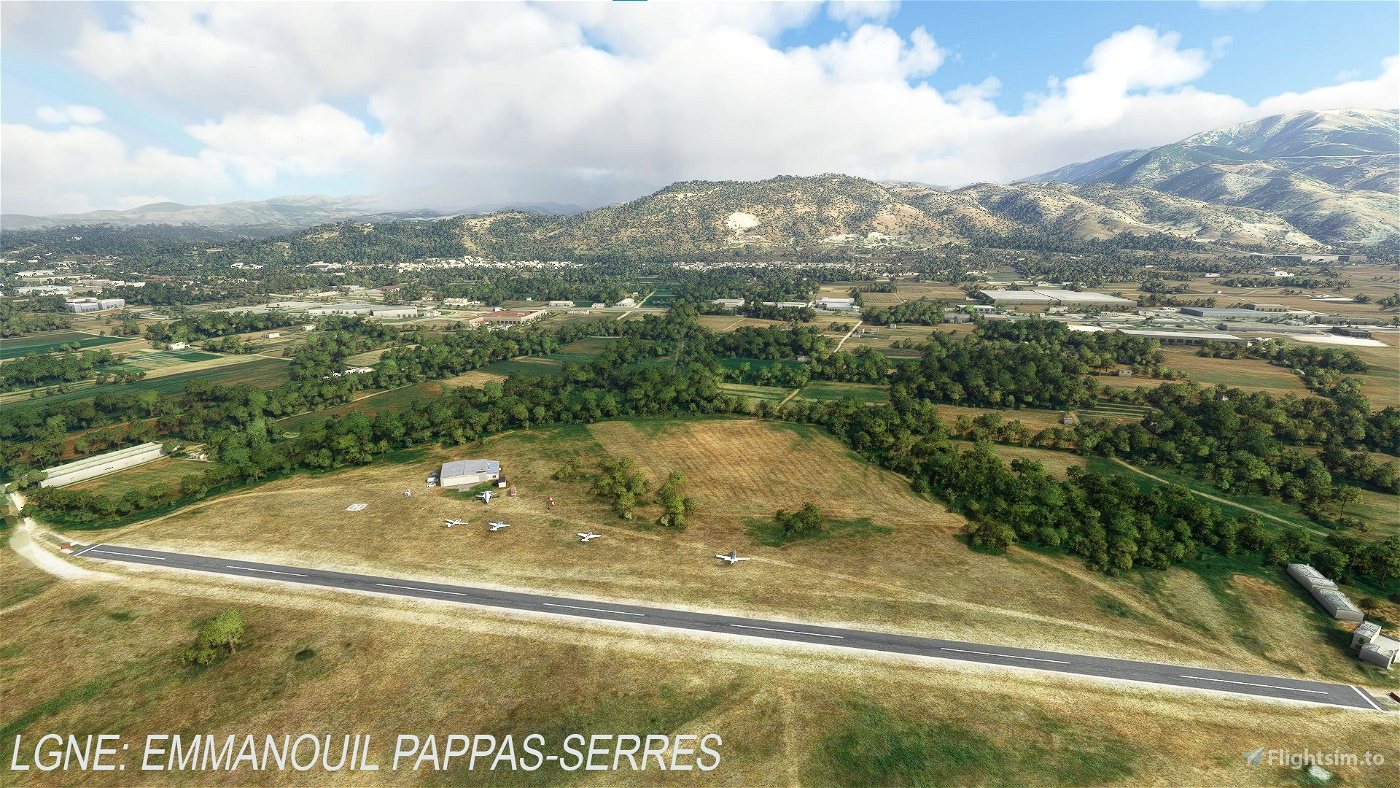 Greek airfields and airstrips pack