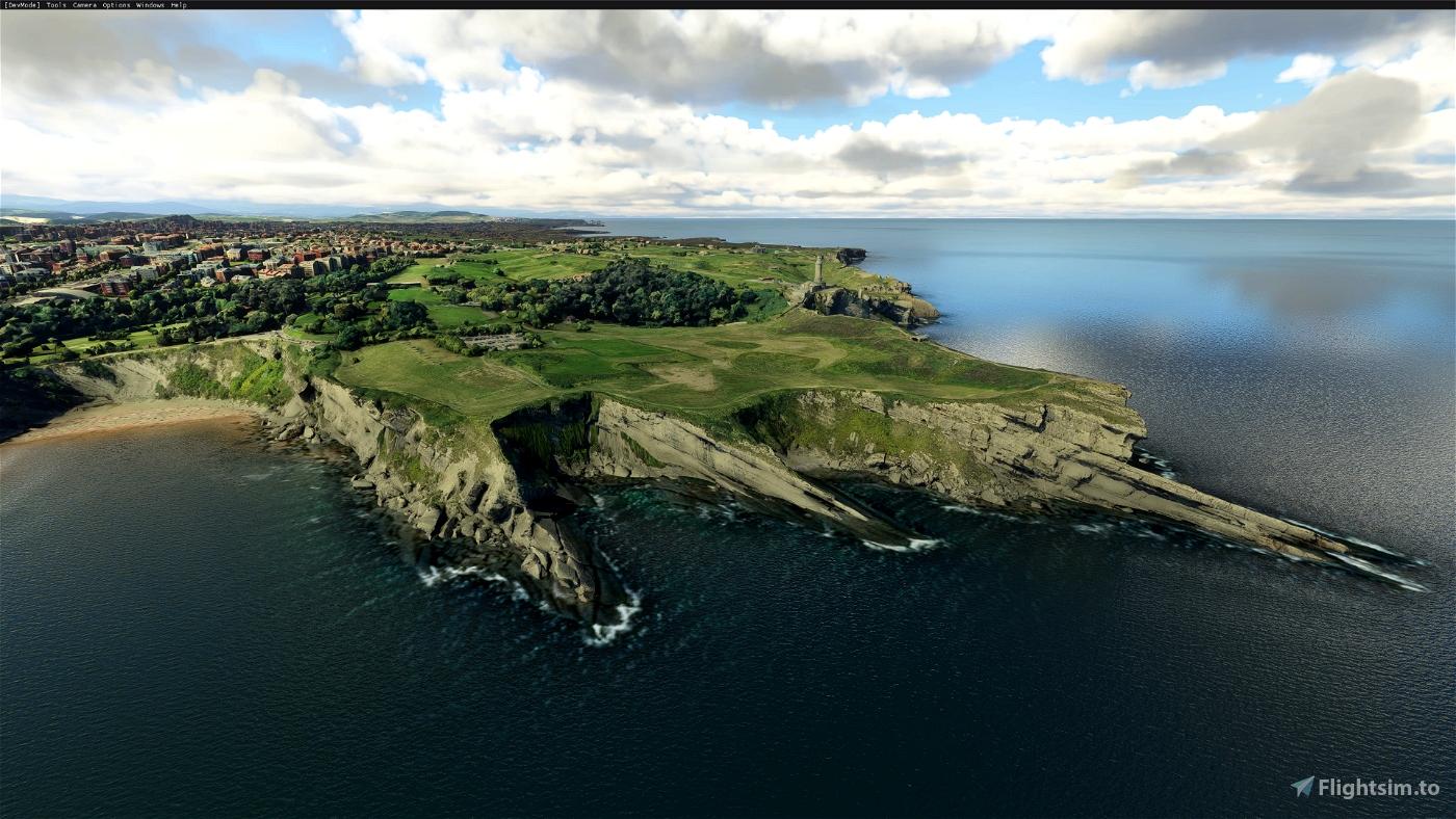 Santander, Cantabria, Spain Microsoft Flight Simulator