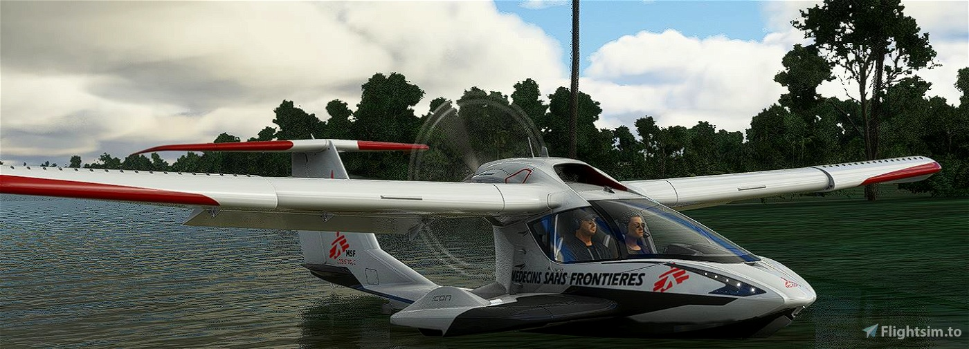 Icon A5 médecins sans frontières [8K] Microsoft Flight Simulator