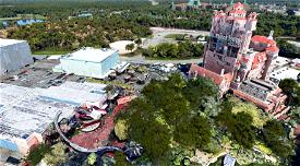 Disney's Hollywood Studios Microsoft Flight Simulator