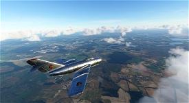 MIG-15 East German Air Force #48 Microsoft Flight Simulator