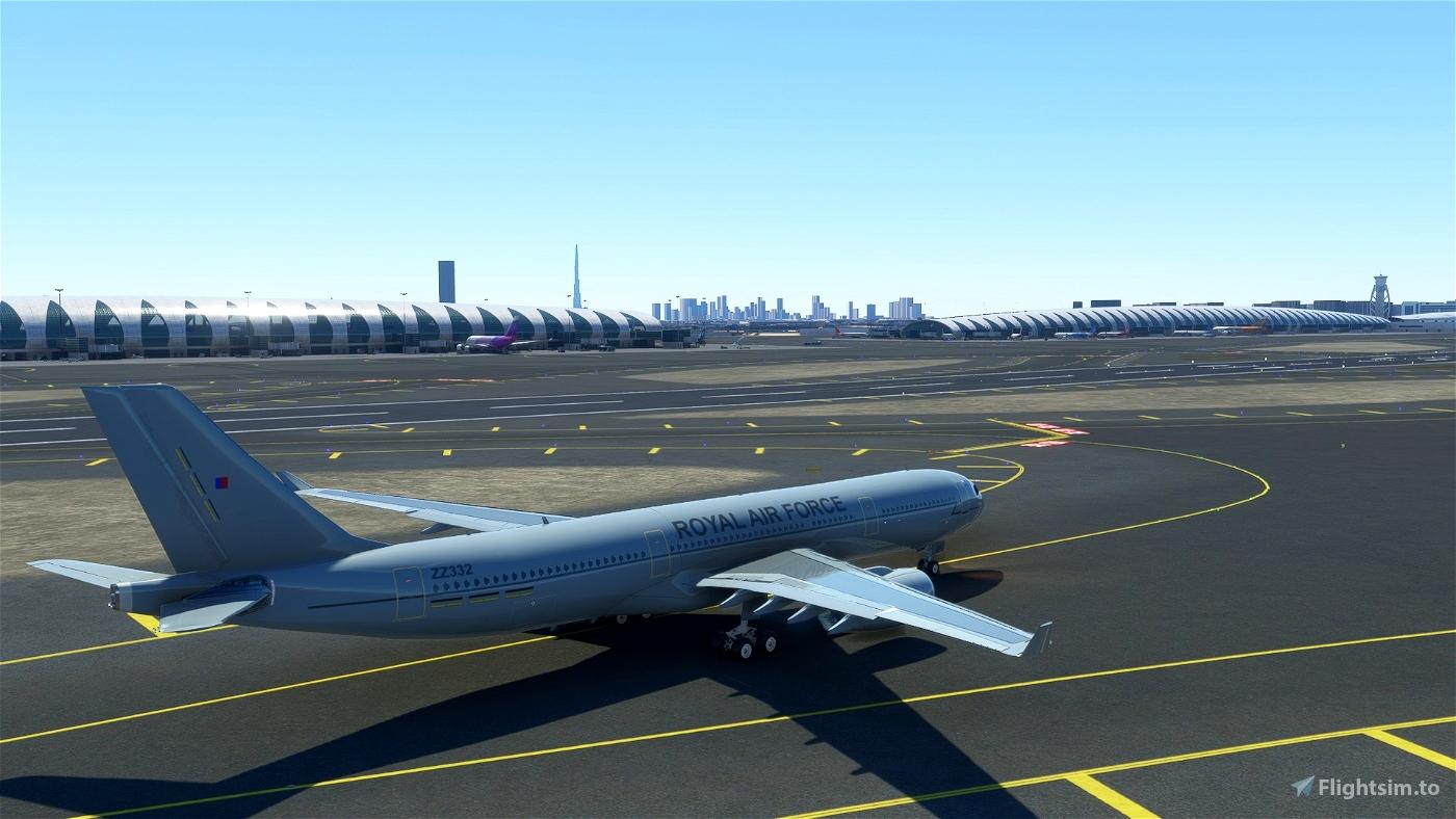 PMP A330 Royal Air Force MRTT Flight Simulator 2020