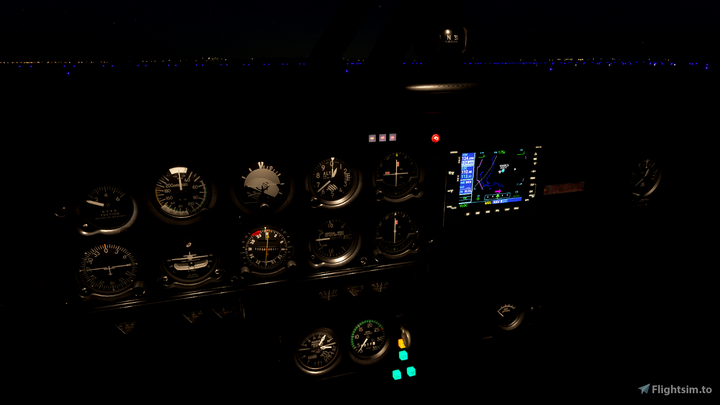 Just Flight PA28 Lighting Improvement