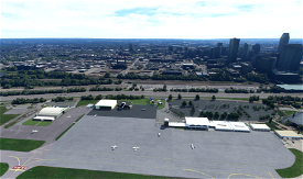 KBKL-Burke Lakefront Airport V2.01 Cleveland, Ohio Microsoft Flight Simulator