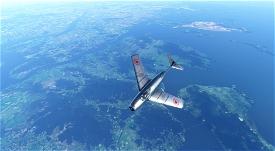 MIG-15 North Korean Air Force #2057 Microsoft Flight Simulator