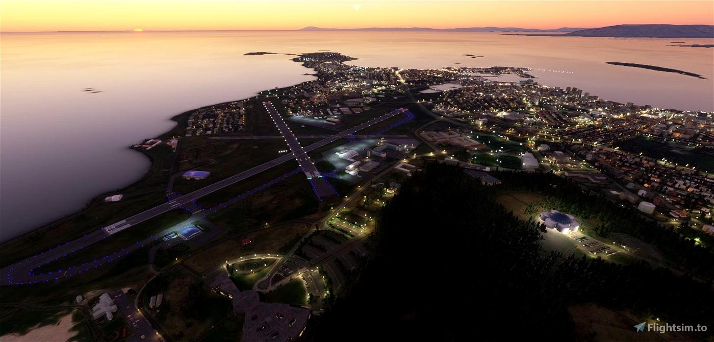 BIRK -  Reykjavik Airport Flight Simulator 2020