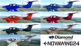 Diamond DA62 Desire Factory Schemes Microsoft Flight Simulator