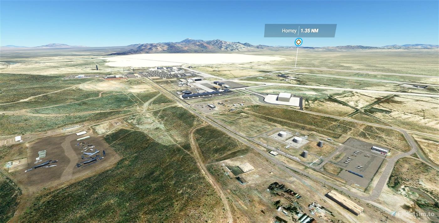 KXTA - Area 51 - Homey Airport - Groom Lake - Upgrade