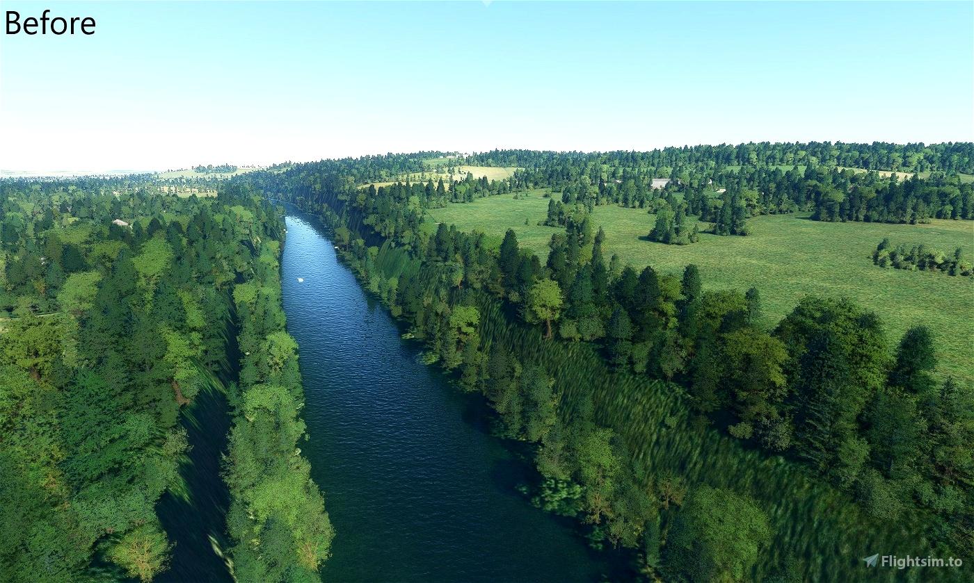 UK River Elevation Fixes Microsoft Flight Simulator