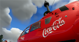 H135 Coca Cola Microsoft Flight Simulator