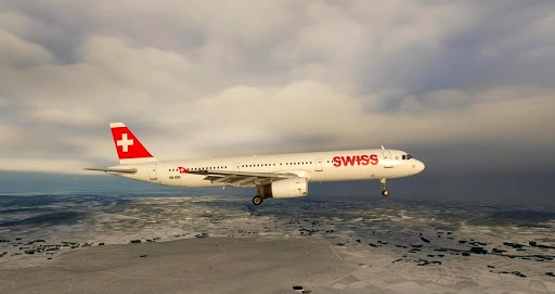 Swiss A321 Microsoft Flight Simulator