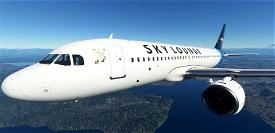 Airbus A320 Neo - The Sky Lounge Livery Image Flight Simulator 2020