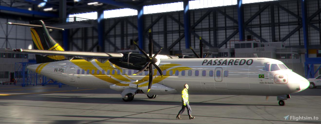 Passaredo PR-PDE ATR72-600